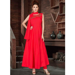 Ladies Red Salwar Suit