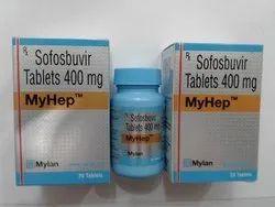 MY Hep 400mg Tablet,  Sofosbuvir (400mg)