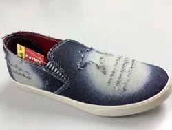 Kayvee Footwear Men Denim Casual Shoes