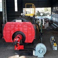 Liquid / Gas Fuel Steam Boiler