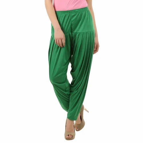 Cotton And Silk Plain Ladies Patiala Salwar bf6fc07c9