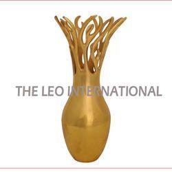Golden Color Decorative Vase New Design