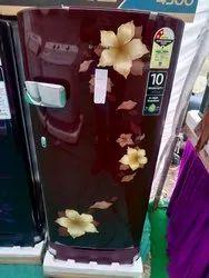 Number Of Doors: Sigle Single Door Samsung Refrigerator, Capacity: 200 L