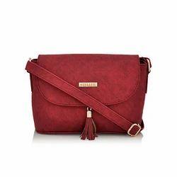 Steller Rexine Designer Red Sling Bag ... f68ee2dd58c6d