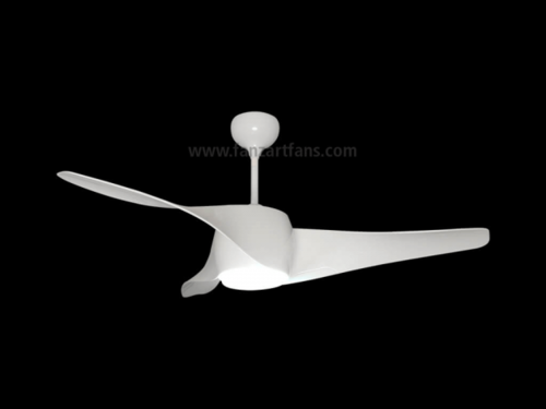 Wave Led Modern Ceiling Fans