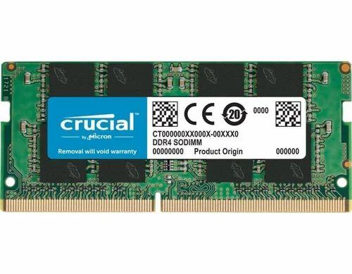 Crucial 8 GB Micron RAM 8GB DDR4 2400 MHZ 19200 Pin Dimm CT8G4SFS824A