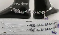 Dulhan Silver Payal