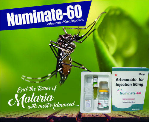 NUMInate-60 Artesunate 60 mg Injection, Packaging Type: Vial
