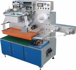 Garment Label Screen Printing Machine