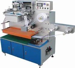 Automatic Garment Label Screen Printing Machine, LT-110