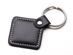 Brown Leather Key Chains