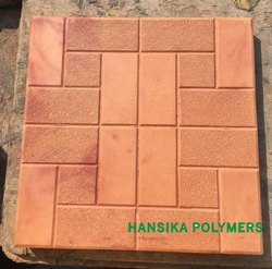 Rubberized PVC Antiskid Tile Moulds, Thickness: 25 / 30 mm