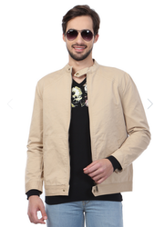 Peter England Brown Beige Jacket