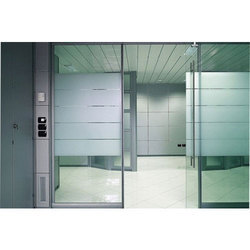 Automatic Decorative Glass Door, Size/dimension: 9x12 Feet