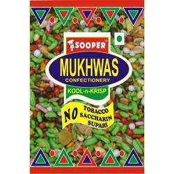 Sooper Mukhwas In 40g Pouches, Package Size: 40 Gm, Pack Type: Pouch