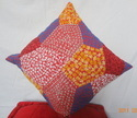 Grey Embroidery Cushion Covert