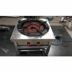 Bhatia Stainless Steel Two Ring Burner Range