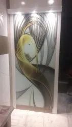 Wall Decorative Glass, For Office, Thickness: 15-20 Mm