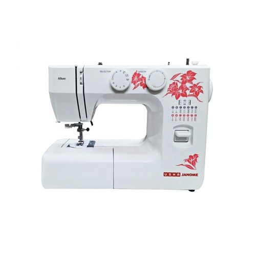 Usha Janome New Allure With Auto Needle Thread Domestic Sewing Beauteous How To Thread A Needle On A Sewing Machine