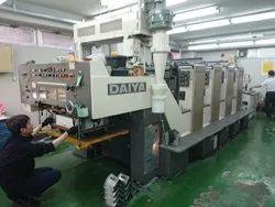 Mitsubishi Diamond 1000-4 Four Colour Offset Printing Machine, Size 20 x 28