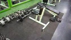 Low Budget Super Strong Gym Floor Mat - Interlocking (Non Pasting)