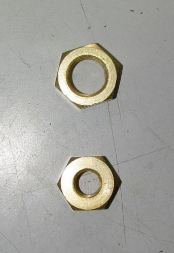 Brass Check Nut