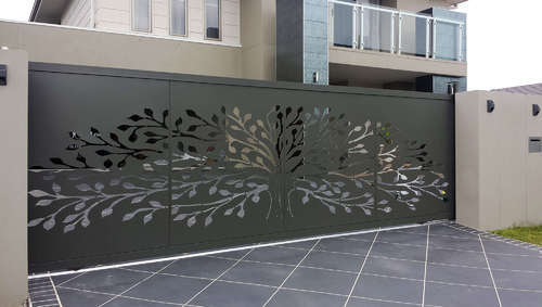 Laser Cut Mild Steel Gates View Specifications Amp Details