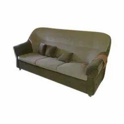 Stainless Steel Designer Wooden Frame Sofa