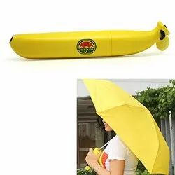 Banana Shaped 3 Fold Umbrella
