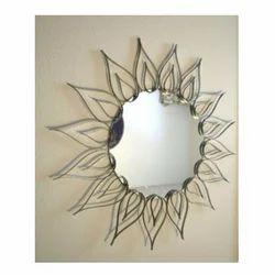 YADU METALS Iron Metal Wall Art, For Decorative Mirror, Size: Costumize