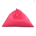 Couchette Polyester Pink Triangle Bean Bag