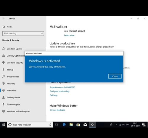 windows 10 home and pro product key