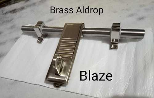 Brass Aldrop Blaze for Door, Size: 10-12 inch