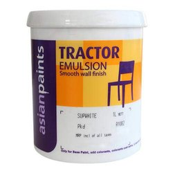 High Gloss Asian Tractor Emulsion Wall Paint, Packaging Type: Bucket