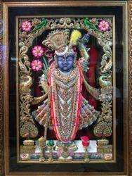 Sreenath Ji Gold Painting