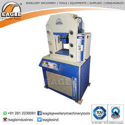 Hydraulic Gold Bar ,Coin Making Minting Machine