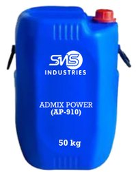 Admix Power Concrete Admixture, Grade Standard: Technical Grade, HDPE Barrel
