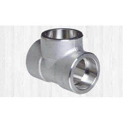 Alloy Steel Socket Weld Unequal Tee