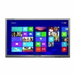 Senses Finger Touch 55 Inches Interactive Flat Panel Display, For Education,Office, Power Consumption: 150 - 220 W