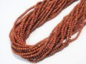 Goldstone Faceted Semi Precious Stone Beads