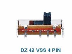 DZ 42 VSS 4 PIN Sliding Switches