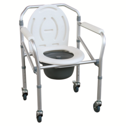 Aluminium Folding Commode Chair