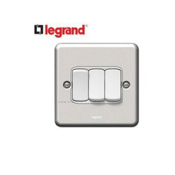 White Legrand Electrical Switches, 220-440v