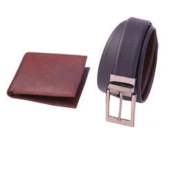 2 in 1 Set Leather Gift Set