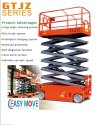 Self-Propelled Scissor Lift Table
