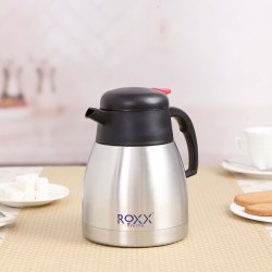 Double Wall Vacuum Tea/Coffee Pot Beverage 1000 ML