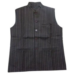 Kalikund Khadi Cotton Designer Men Nehru Jacket, Packaging Type: Packet