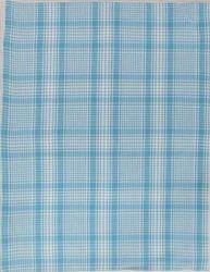Blue Check Dobby Kitchen Towel