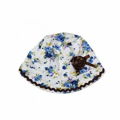 feeb8cd5c34 Girls Multicolor Baby Designer Cap