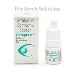 Careprost 0.03% W/v Eye Drops